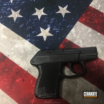 Cerakoted Kel-tec Handgun Done In H-146 Graphite Black