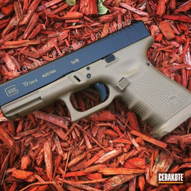 Big version of the 1st project picture. Glock, Glock 19, Pistol, Flat Dark Earth H-265Q