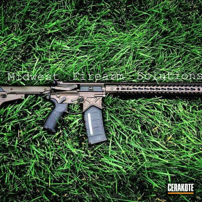 Cerakoted: Rifle,Hunting Rifle,Graphite Black H-146,Burnt Bronze H-148,Tactical Rifle