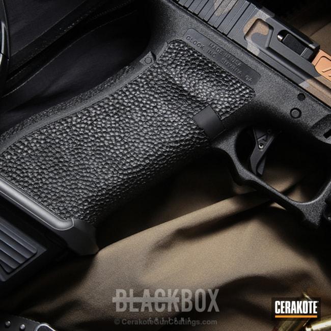 Cerakoted: Graphite Black H-146,Tungsten H-237,Stippled,Burnt Bronze H-148,Camo,Pistol,Glock