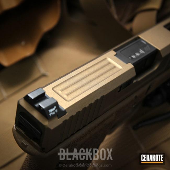 Cerakoted: Burnt Bronze H-148,Pistol,Glock