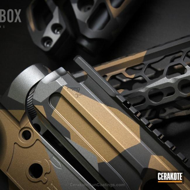 Cerakoted: Graphite Black H-146,Burnt Bronze H-148,Tungsten H-237,Gun Parts