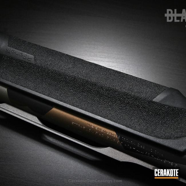 Cerakoted: Shotgun,Graphite Black H-146,Burnt Bronze H-148,Tungsten H-237,Benelli,Benelli Super Black Eagle II