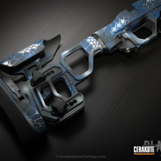 Cerakoted: Kryptek,NRA Blue H-171,Snow White H-136,Gun Parts,SIG™ DARK GREY H-210