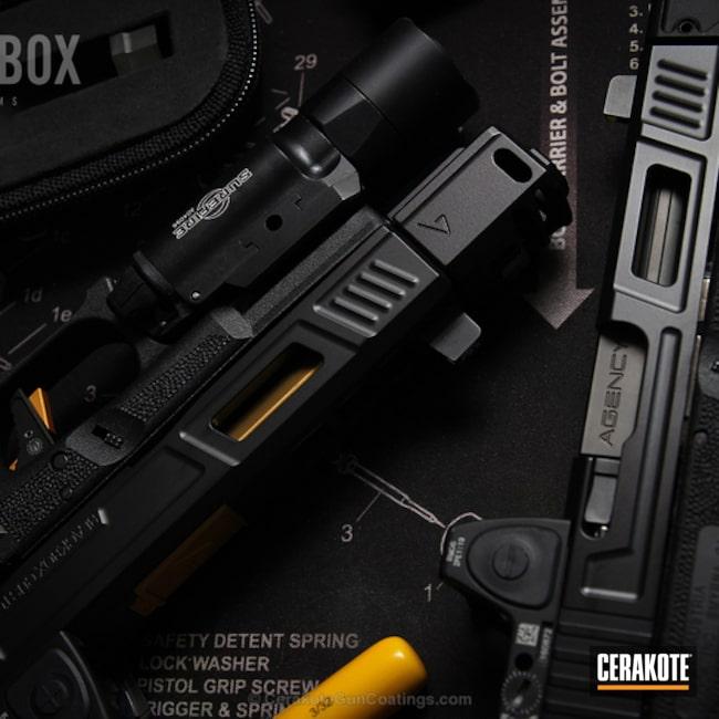 Cerakoted: Graphite Black H-146,Pistol,Glock,Handguns