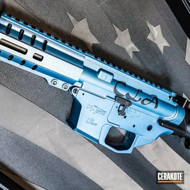 Cerakoted: Tactical Rifle,CMMG,Blue Titanium H-185