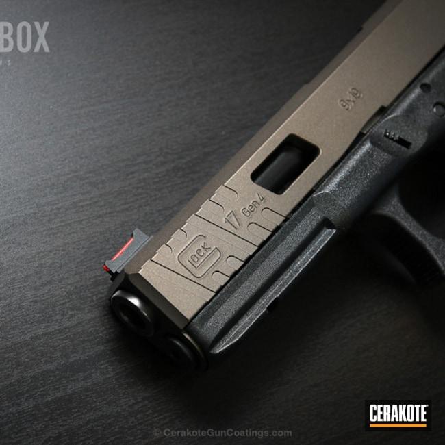 Cerakoted: Pistol,Glock,Midnight Bronze H-294