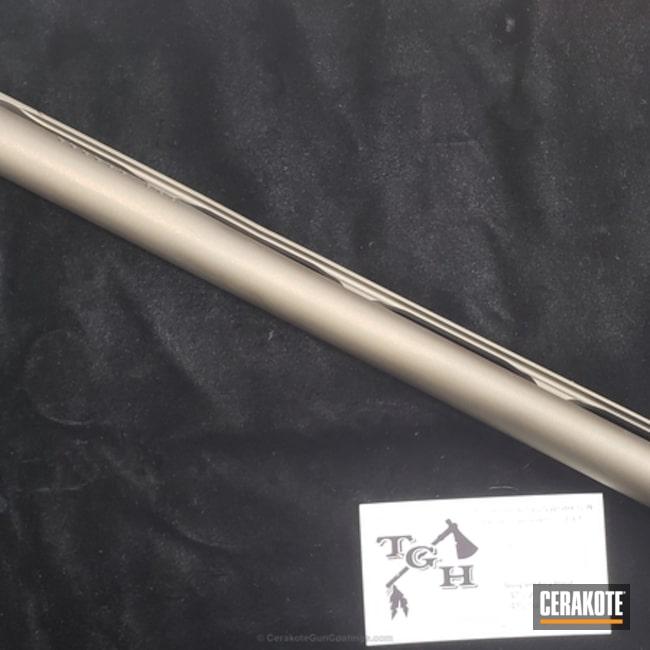 Cerakoted: Barrel,Midnight Bronze H-294