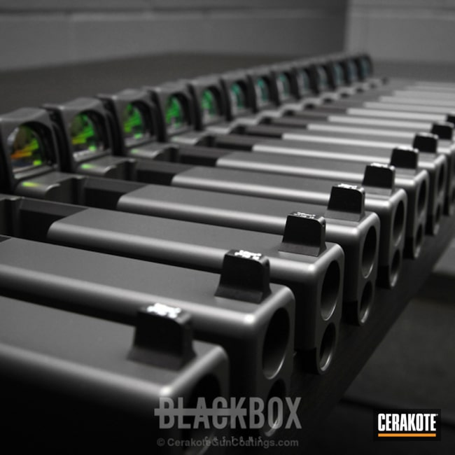 Cerakoted: Cerakote Elite Series,Glock,Smoke E-120,Slides