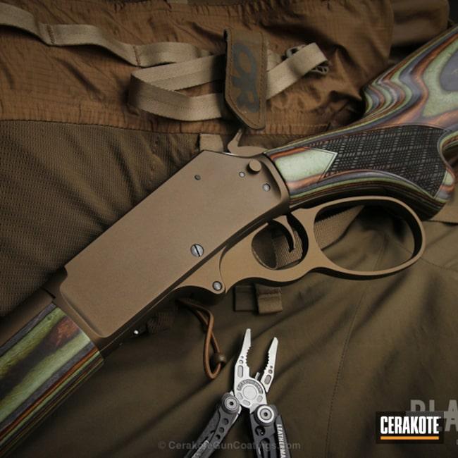 Cerakoted: Rifle,Burnt Bronze H-148,Lever Action