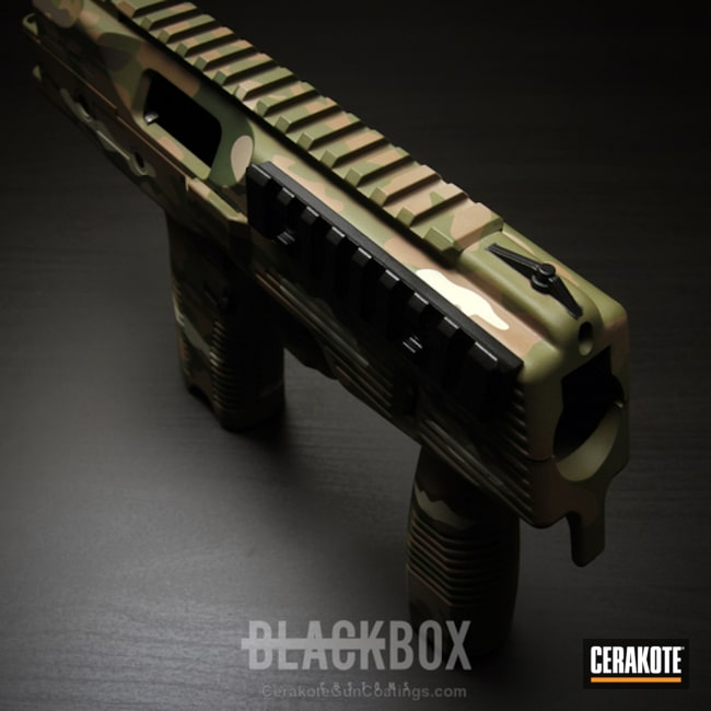 Cerakoted: 9mm,MultiCam,BENELLI® SAND H-143,MAGPUL® O.D. GREEN H-232,Flat Dark Earth H-265,TP9-US,Brugger and Thomet
