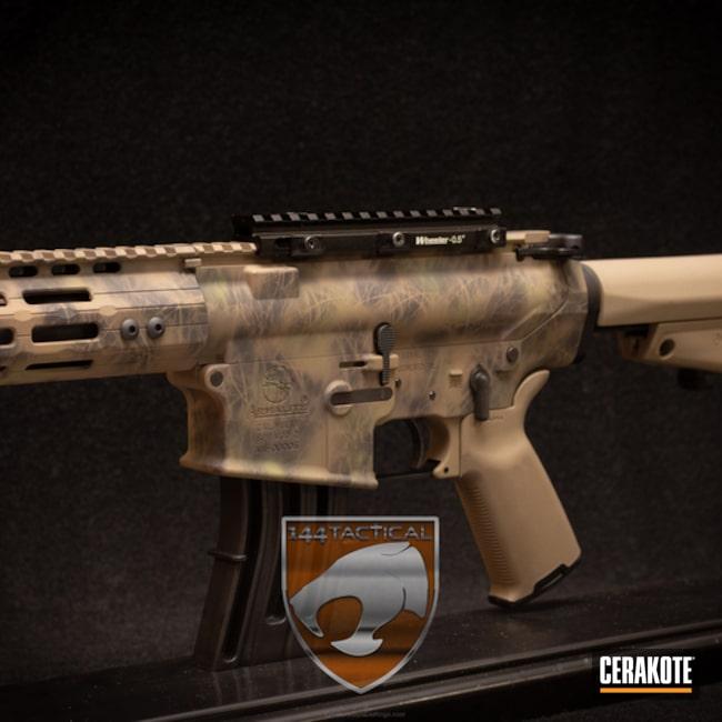 Cerakoted: MAGPUL® FLAT DARK EARTH H-267,Grassland,Graphite Black H-146,Tactical Rifle,Noveske Bazooka Green H-189,ArmaLite,Custom Camo,AR 308