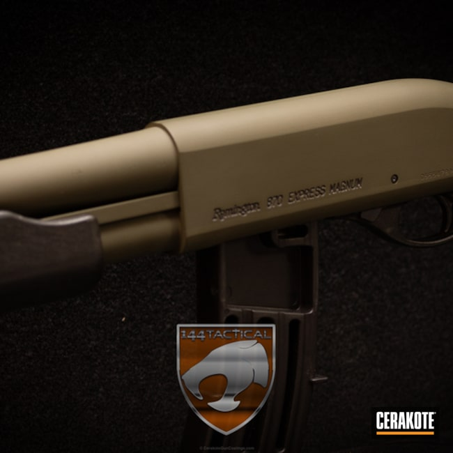 Cerakoted: Shotgun,Remington 870,Remington,MAGPUL® O.D. GREEN H-232,Law Enforcement
