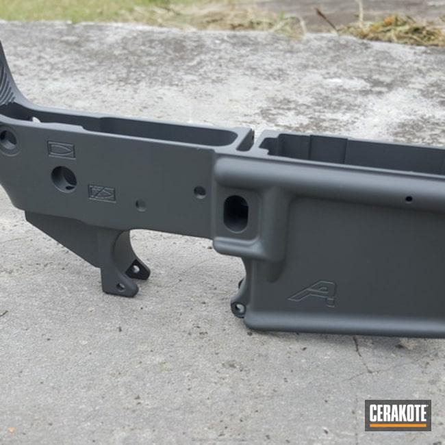 Cerakoted: Aero Precision,Lower,Solid Tone,Solid,AR-15 Lower,SIG™ DARK GREY H-210