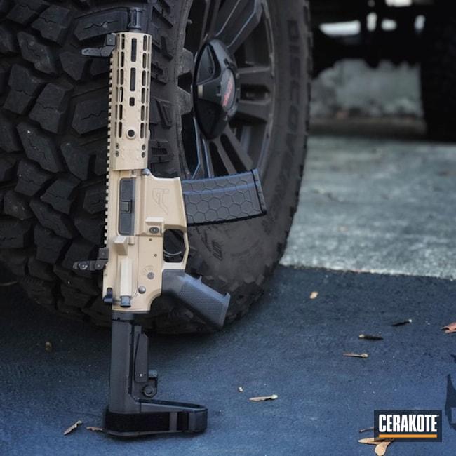 Cerakoted: Aero Precision,AR Pistol,MAGPUL® FLAT DARK EARTH H-267,AR-15
