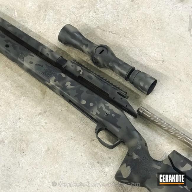 Cerakoted: Bolt Action Rifle,Cerakote Elite Series,MAGPUL® FLAT DARK EARTH H-267,MAD Land Camo,Graphite Black H-146,M17 COYOTE TAN E-170,Camo,O.D. Green H-236,Proof Research,Leupold