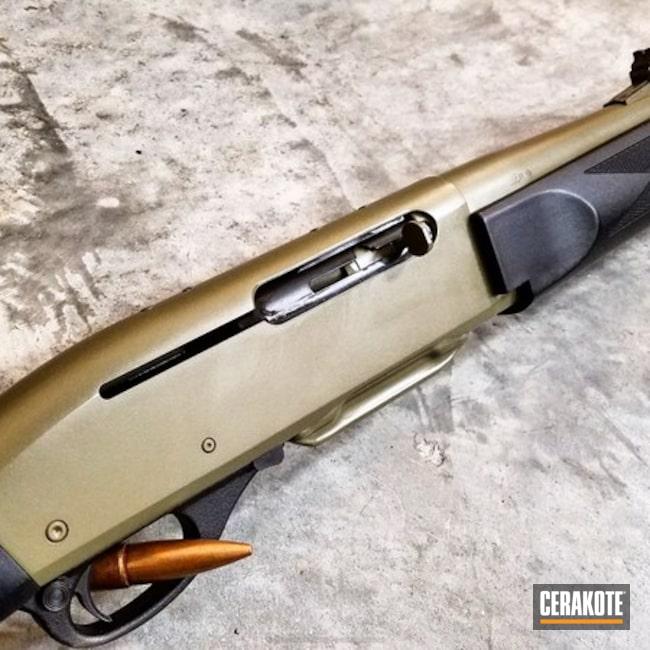 Cerakoted: HAZEL GREEN H-204,Shotgun,Hunting Rifle,Remington 7400,Restoration,Corrosion Protection,Remington,Semi-Auto