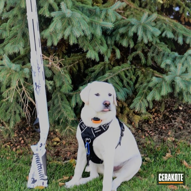 Cerakoted: Shotgun,Snow White H-136,Graphite Black H-146,Benelli,BATTLESHIP GREY H-213,Tactical Grey H-227,Benelli Super Black Eagle II