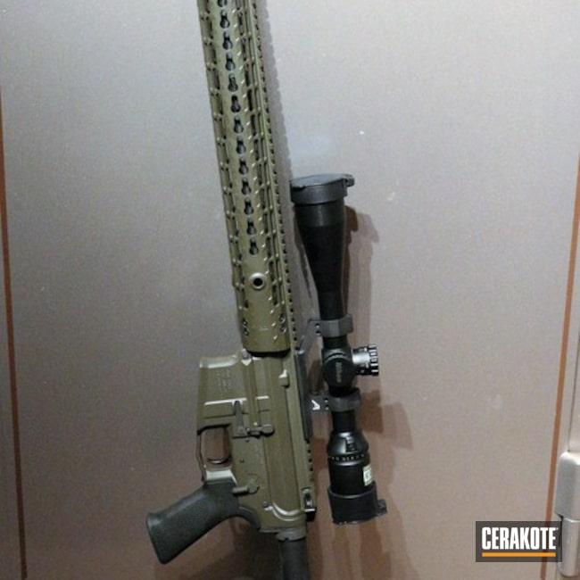 Cerakoted: Aero Precision,Tactical Rifle,MAGPUL® O.D. GREEN H-232