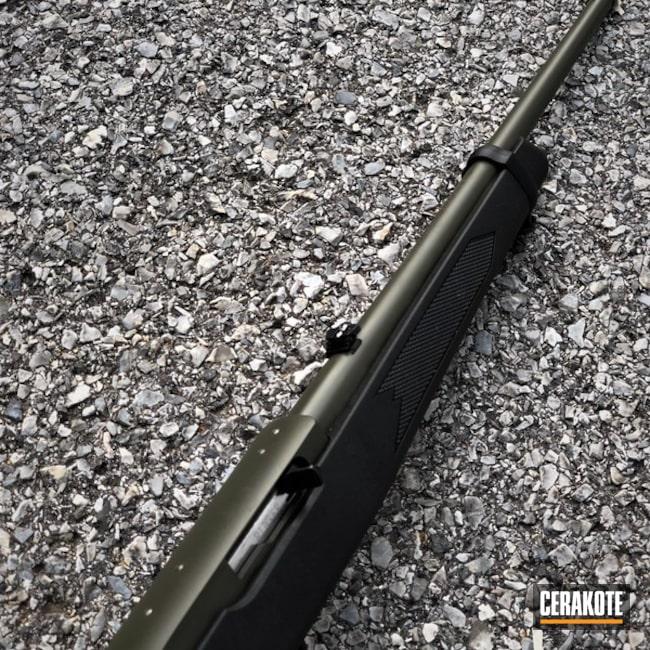 Cerakoted: Rifle,Ruger,O.D. Green H-236