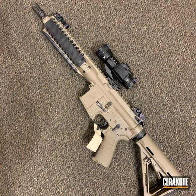 Cerakoted: Custom SBR,Tactical Rifle,SBR,Flat Dark Earth H-265,AR-15