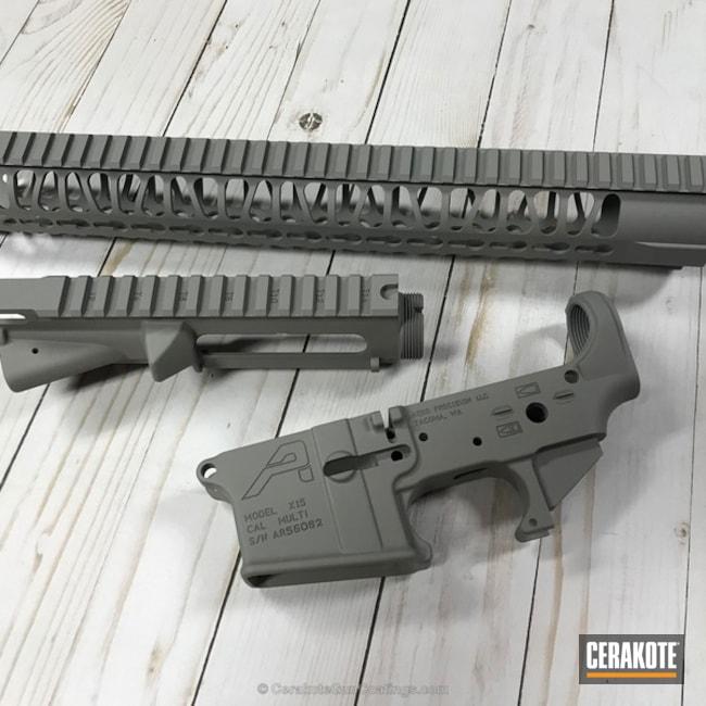 Cerakoted: Aero Precision,Steel Grey H-139,Solid Tone,Gun Parts,AR-15