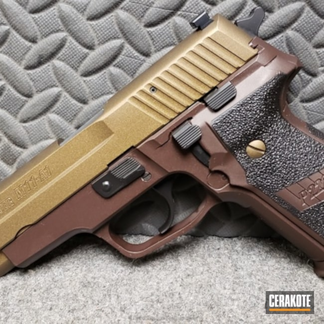 "Thumbnail image for project ""Custom Cerakoted Sig Sauer P228"""