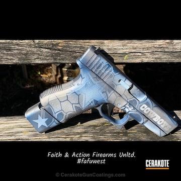 Cerakoted Dallas Cowboys Themed Glock