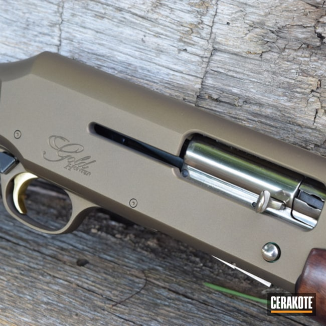 Cerakoted: Shotgun,Browning Gold Hunter,Burnt Bronze H-148,Browning