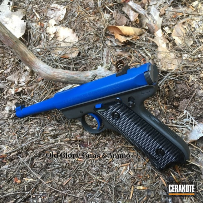 Cerakoted: Target Pistol,NRA Blue H-171,Ruger,Pistol,GunCandy