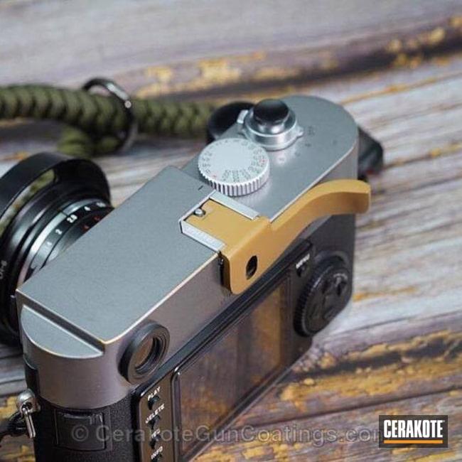Cerakoted: Noveske Tiger Eye Brown H-187,Camera,More Than Guns
