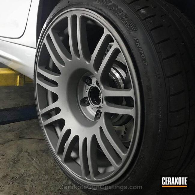 Cerakoted: Gun Metal Grey H-219,More Than Guns,Automotive,Wheels