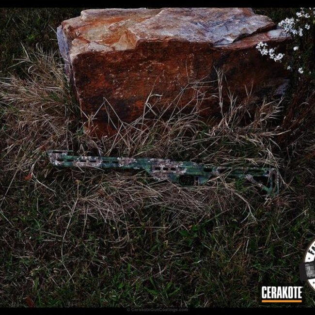 "Thumbnail image for project ""Rifle Stock done in a Custom Camo Finish"""