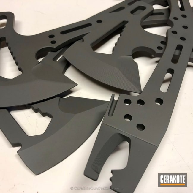 Cerakoted: More Than Guns,Axe,SIG™ DARK GREY H-210