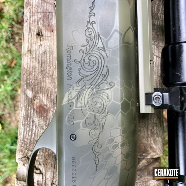 "Thumbnail image for project ""Remington Model 1100 in a Cerakote Kryptek Finish"""