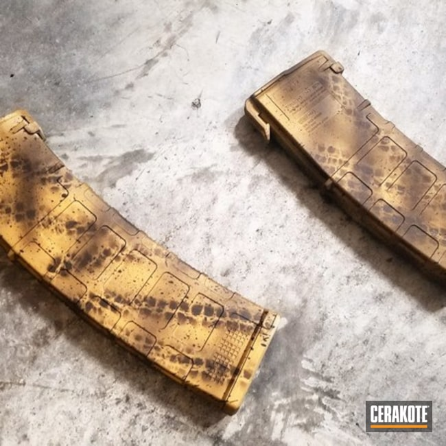 Custom Cerakoted Magazines