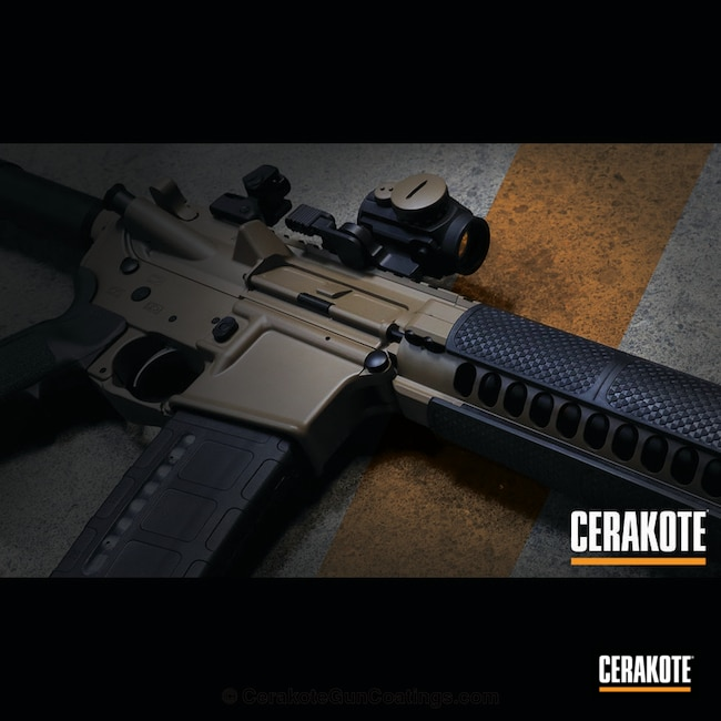 "Thumbnail image for project ""Noveske with Graphite Black and MagPul FDE"""