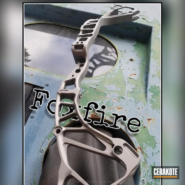 Cerakoted: Cerakote Clear - Aluminum MC-5100Q,Compound Bow,Bow Riser,Titanium H-170,Cerakote Clear - Aluminum MC-5100,More Than Guns
