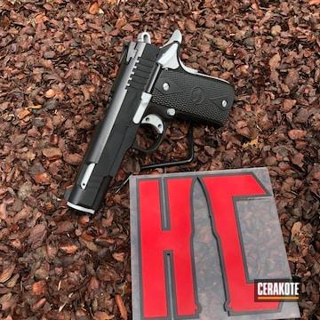 Cerakoted Two Toned Rock Island Armory 1911 Handgun
