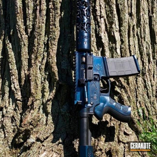 Cerakoted: Integrated Suppressor,Graphite Black H-146,Next Level Armament,AR-15,GunCandy,Unique-Ars