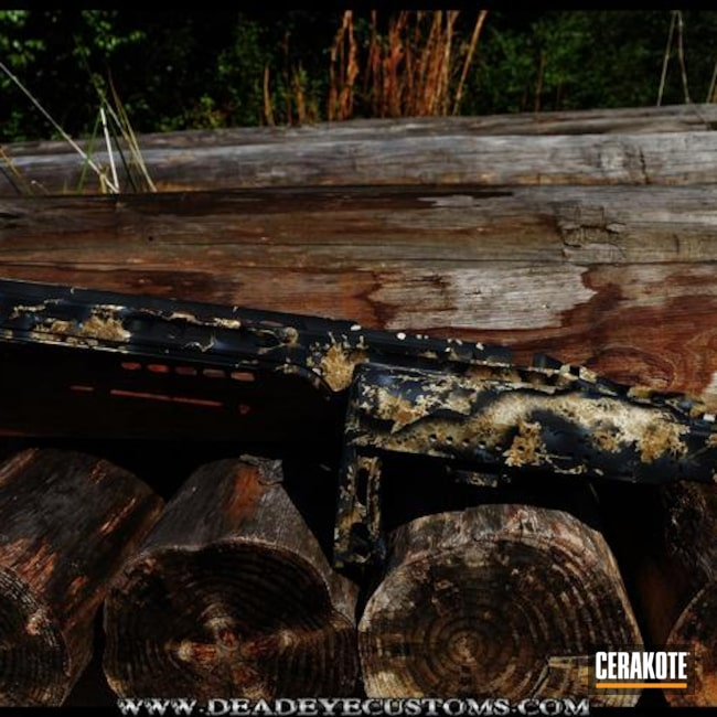 Cerakoted: Noveske Tiger Eye Brown H-187,Rifle Stock,Graphite Black H-146,Armor Black H-190,BENELLI® SAND H-143,Custom Camo