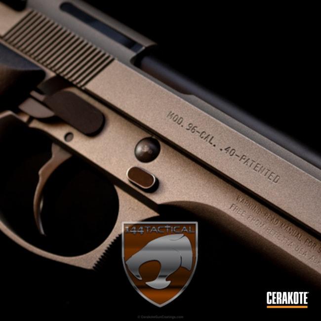 Cerakoted: Gun Metal Grey H-219,Pistol,Beretta
