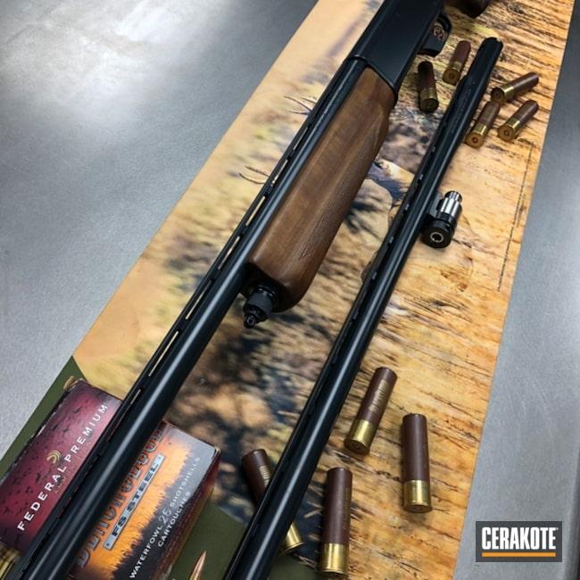 Cerakoted: Midnight E-110,Semi-Auto Shotgun,Shotgun,MATTE CERAMIC CLEAR MC-161,10GA.,Waterfowl,Goose Gun