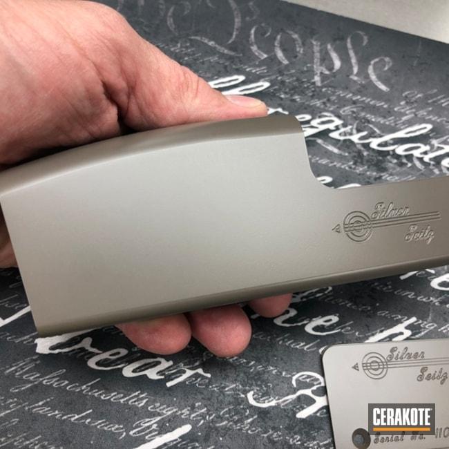 Cerakoted: Cerakote Elite Series,Shotgun,Sporting Clays,Silver Seitz,Solid Tone,Earth E-130,Earth E-130G