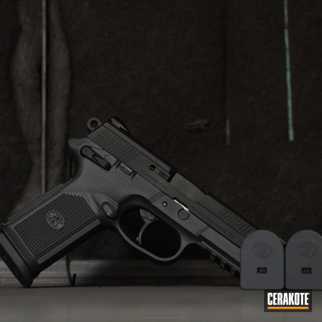 Cerakoted: FN Mfg.,FNX,Sniper Grey H-234,Pistol
