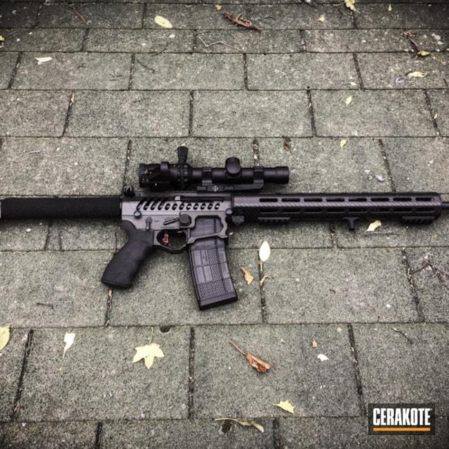 Cerakoted: Tactical Rifle,Cobalt H-112