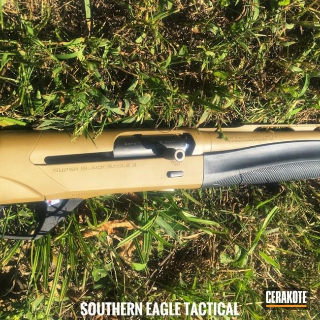 Cerakoted: Shotgun,FS FIELD DRAB H-30118,Benelli,Benelli Super Black Eagle III