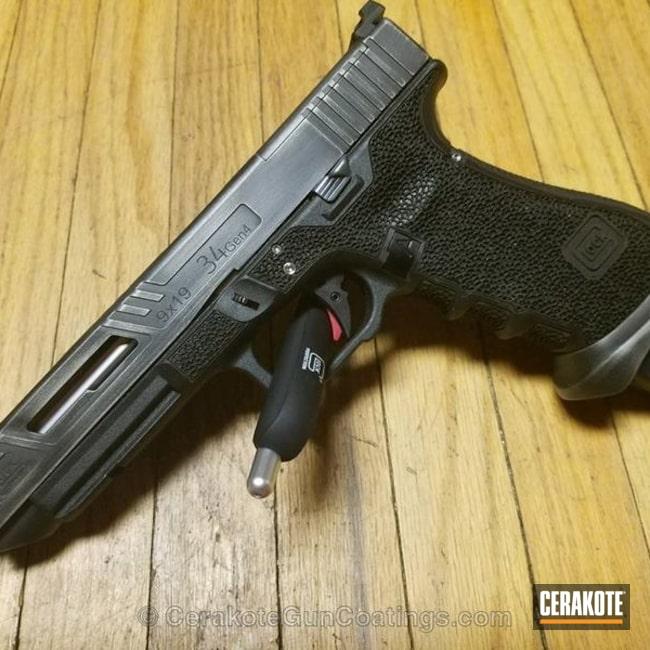 Cerakoted: Battleworn,Custom,Graphite Black H-146,Distressed,Stainless H-152,Glock