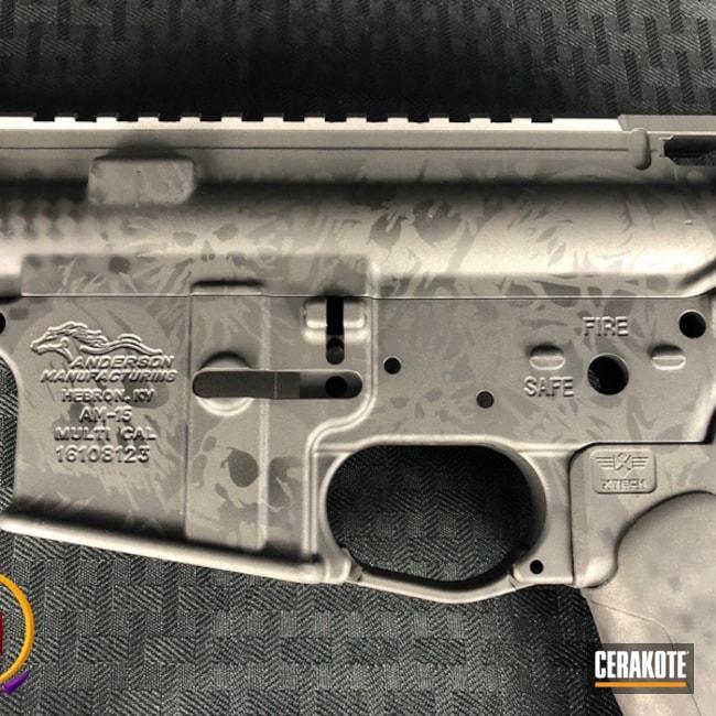 Cerakoted: Graphite Black H-146,Tungsten H-237,Gun Parts