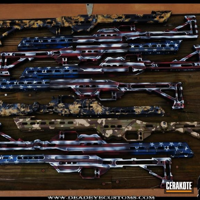 "Thumbnail image for project ""Custom Coated Rifle Frames"""